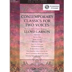 Contemporary Classics for Two Voices (Bk/CD) - Vocal Duet