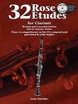 32 Rose Etudes - Clarinet Book with Online Media Access