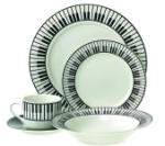20 Piece Keyboard Dinnerware Set