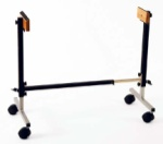 Studio 49 FSD Height-Adjustable Mobile Stand For Diatonic Instruments