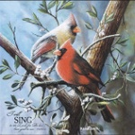 Cardinal - I Will Sing Wall Plaque