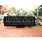 Amazing Grace Plaque w/Easel