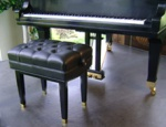 Jansen J2 Standard Artist Piano Bench (Ebony Finish)