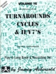 Jamey Aebersold Vol. 16: Turnarounds, Cycles, ii/V7's (Bk/CD)
