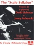 Jamey Aebersold Vol. 26 Book & CD - Scale Syllabus