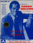Jamey Aebersold Vol. 35 Book & CD - Cedar Walton
