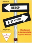Jamey Aebersold Vol. 36 Book & CD - Bebop and Beyond