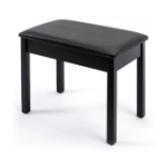 Yamaha BB1 Black Piano Style Bench