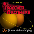 Jamey Aebersold Vol. 83 Book & CD - Brecker Brothers Play-along