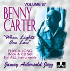 Jamey Aebersold Vol. 87 Book & CD - Benny Carter