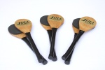 3 Pairs Of Wooden Joia Tube Mallets