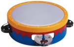 Hohner 6 In. Multi-Colored Tambourine