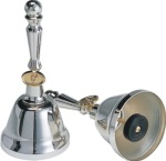 UCHIDA MB-SPE Silver Excellent Series 8 Note Handbell Set