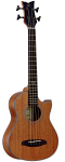 Ortega D-WALKER-MM Deep A/E Travel Bass w/Gig Bag