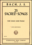 25 Sacred Songs - Voice and Piano