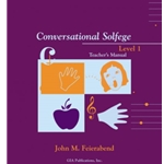 Conversational Solfege, Level 1 - Teacher