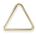 "Grover TR-B-7 7"" Bronze Series Piccolo Triangle"