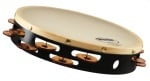 "Grover T2/BC-X 10"" dbl-row, Beryllium Copper Tambourine - Synthetic"