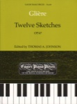 12 Sketches, Op. 47 - Piano