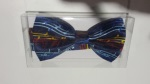 Navy with Notes Bow Tie