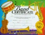 Band Certificate