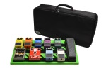 Gator Green Aluminum Pedal Board; Large w/ Carry Bag