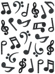 Music Symbols Stickers