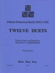12 Duets - Flute and Clarinet