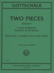 2 Pieces, Vol.1 - Flute, Clarinet, and Piano
