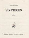 6 Pieces for Pianoforte