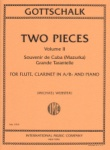 2 Pieces, Vol. 2 - Flute, Clarinet, and Piano
