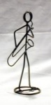 Bari Saxophone Stickman Sculpture