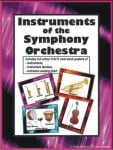 Instruments of the Symphony Orchestra - Set of 24 Posters