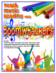 Teach Music Reading with Boomwhackers