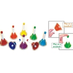 KidsPlay Combined Handbell & Deskbells 8 Note Diatonic Set