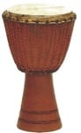 "11"" Hand Carved Kangaba Djembe from Mali"
