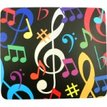 Multi Color Notes Mousepad