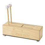 "Remo GATO BOX®, 13"" X 4"", Two Tones, Maple Wood, Rubber Mallet Pair, Natural Finish"