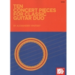 10 Concert Pieces for Classic Guitar Duo - Guitar Duet
