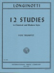 12 Studies in Classical and Modern Style - Trumpet