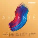 Ascente Violin G String, 3/4 Scale, Medium Tension