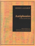 Antiphonies for Brass and Percussion (Score Only)