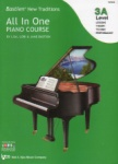 All In One Piano Course, Level 3A