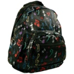 Satin Notes Mini Back Pack