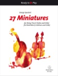 27 Miniatures - Two Violins and Cello