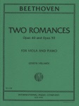 2 Romances, Opp. 40 and 50 - Viola and Piano