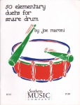 50 Elementary Duets for Snare Drum - Snare Drum Duet