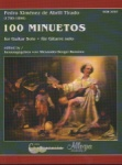 100 Minuetos - Classical Guitar