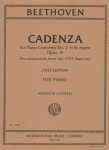 Cadenza for Piano Concerto No. 2, Op.19 - Piano