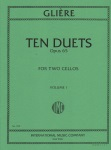 10 Duets, Op. 65, Volume 1 - Cello Duet